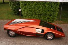 Bertone Lancia Stratos Zéro 1970