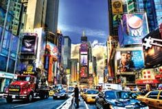 Maailman pienin Puzzles - Times Square Kaupungit Miniature