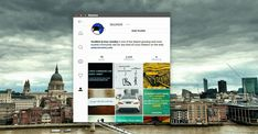 Ramme Instagram App for Linux