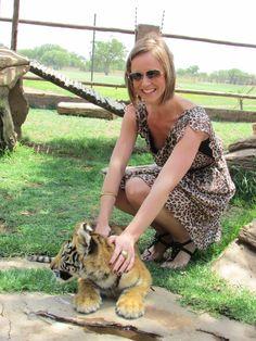 Tiger Cub Interaction