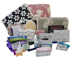Princess Push Pack - All the hospital necessities in a cute and reusable toiletry bag!