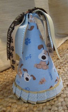 Puppy Themed Party Hat Child's Puppy Hat Dog by AllisonHopeDesigns, $15.00