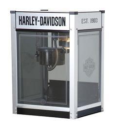 $707.75 Harley-Davidson Metallic Flames Popcorn Machine