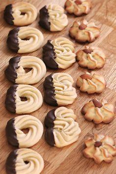 Spritzgebäck Thermomix orangen spritzgebäck rezept weihnachten pralinen und kekse