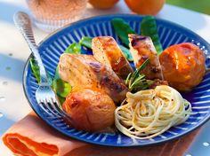 Avec les lectrices reporter de Femme Actuelle, découvrez les recettes de cuisine des internautes : Filet mignon aux abricots