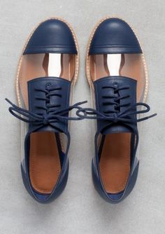 40 Oxford Shoes You Will Definitely Want To Save - Women Shoes Trends - Women's style: Patterns of sustainability Oxford Shoes Outfit, Casual Shoes, Women Oxford Shoes, Wedge Shoes, Shoes Heels, Pumps, Shoes Sneakers, Clear Shoes, Shoe Wardrobe