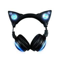 Buy NOW and GET OFF NOW on the Axent Wear Cat Ear Headphones in Blue. Listen privately or share your music with your friends. Now on Oregon Scientific Asia store! Gaming Headphones, Gaming Headset, Wireless Cat Ear Headphones, Kawaii Accessories, Tech Accessories, Things To Buy, Girly Things, Stuff To Buy, Aaliyah