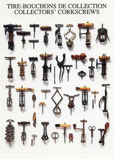 Tire-bouchons de collection / Collectors' Corkcrews (Nouvelles Images, France)