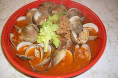 Our Sunday Cafe: Clams in Chorizo Broth