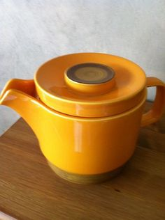 Electronics, Cars, Fashion, Collectibles, Coupons and Second Hand Shop, Norway, Scandinavian, Tea Pots, Hand Painted, China, Ceramics, Yellow, Tableware