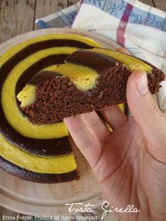 Ogni riccio un pasticcio - Blog di cucina: Torta girella con spirale di crema pasticcera