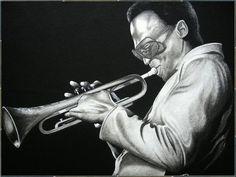 Miles Davis Drawing