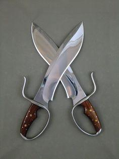 Sasquatch Butterfly Swords 2nd Generation (Bohler D2 Tool Steel)