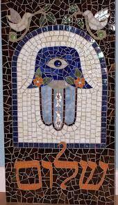 Resultado de imagen para hamsa mosaics