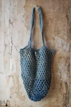 indigo ombre crochet