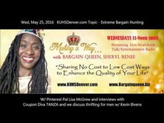 Making a Way w/Bargain Queen Full Show KUHS Denver topic - Extreme Bargaining - YouTube