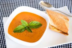 Zupas roasted tomato soup--i've never had REAL tomato soup (ie not from a can), will have to try!