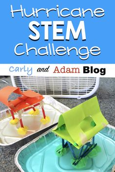 hurricane food ideas Earlier this fall we experienced multiple hurricanes in and around the United States. As a teacher in Indiana, my students are not very familiar with hurricane Steam Activities, Science Activities, Science Ideas, Science Experiments, Stem Projects, Science Projects, Science Lessons, Teaching Science, Life Science