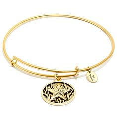 Chrysalis Starfish Expandable Bangle, Gold-Plated * Check this awesome product by going to the link at the image. (This is an affiliate link and I receive a commission for the sales)