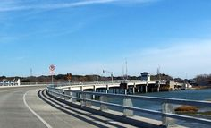 The new bridge that leads into Chincoteague.