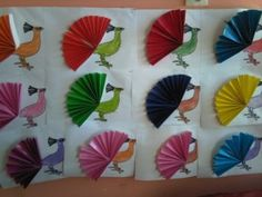 19 Best Peacock Crafts Images Day Care Preschools Crafts For Kids