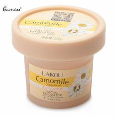 Facial Cleanser Natural Organic Facial Exfoliator Exfoliating Cream 120g Whitening Peeling Cream Gel Face Facial Scrub Removal