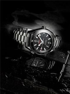 """The OMEGA Seamaster Planet Ocean 600M """"SKYFALL"""" Limited Edition, James Bond's watch in Skyfall (2012) by Sam Mendes."""