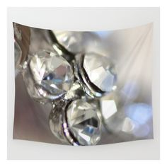 Sparkle - Justart ©, Macro Photography. Wall Tapestry ($39) ❤ liked on Polyvore featuring home, home decor, wall art, wall tapestries, outdoor wall art, photography wall art, tapestry wall art, outside home decor and outside wall art