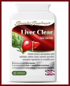 Herbal Supplement Liver Clear  For Healthy Liver and Gallbladder Support.   #SSupplements
