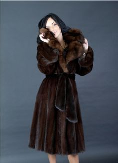 mink & sable fur coat Anyone who wears real fur should, in my opinion, be skinned alive and left to die from shock. I hope that for the rest of their reincarnations, they come back as a mink and are skinned for their fur. Absolutely pisses me off! How can people be so cruel?