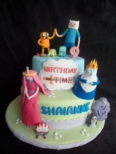 Adventure Time Cake by I Love Cakes