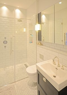 Make the most of your space in small bathroom....