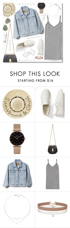"""""""- Those Summer Nights -"""" by fashionablemy ❤ liked on Polyvore featuring Betsey Johnson, Gap, CLUSE, Chloé, Marco de Vincenzo and Miss Selfridge"""