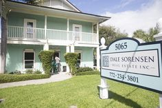 In August, Matilde Sorensen, co-owner/broker of Dale Sorensen Real Estate, got the idea to have a little painting done to spruce up the company's office at 5065 North A1A. Before she knew it, a full cosmetic remodel was underway, with new flooring, furniture, windows, doors, bathrooms and landscaping going in at the building where company co-founder Dale Sorensen Sr. and 20 agents have their offices.