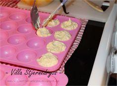 Stjernedryss!: Vanilje cakepops