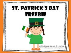 St. Patrick's Day Persuasive Writing and FREEBIE as seen on Fourth Grade Friends www.fourthgradefriends.com