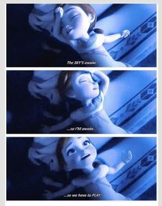 My first reaction to this was...Anna is so dramatic!! Then yep this is really me...lol I love this movie way too much! #Frozen