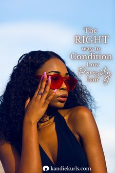 It is not always necessary to use a conditioner after washing your low porosity hair. Mainly because it could cause the product build-up along the hair shaft. However, after shampooing your hair you should always use this. Learn more about how to take care of your porosity level. #low #porosity #hair #conditioner #products #moisture #guide #tips #regimen #routine #natural #curly Low Porosity Hair Products, Hair Porosity, Natural Hair Tips, Natural Hair Styles, Diy Conditioner, Natural Hair Problems, Curl Pattern, Deep Conditioning, Moisturize Hair