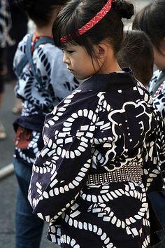 Matsuri Girl-- Suwa Shrine Autumn Festival  [佐原の大祭秋祭り(諏訪神社秋祭り)]
