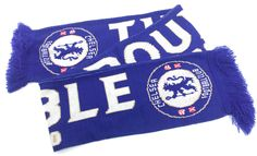Chelsea Football CFC Official FA The Double 2009/2010 Blue Knitted Scarf in Sports Memorabilia, Football Memorabilia, Scarves | eBay