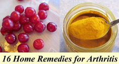 16 Remedies for Arthritis