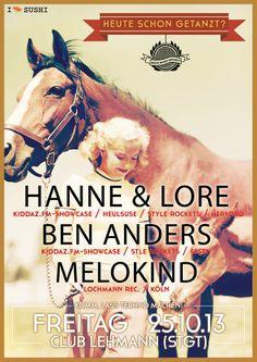 HANNE & LORE BEN ANDERS MELOKIND