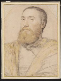 Portrait of an Unknown Man, possibily identifiable as Thomas Seymour (c.1508-49) | Hans Holbein the Younger | c. 1535-1540