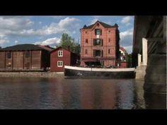 Summer of Porvoo in Finland