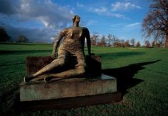 One of Henry Moore's inspirational figures at theYorkshire Sculpture Park   Henry Moore at YSP