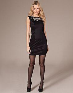 Little Black Glam Dress