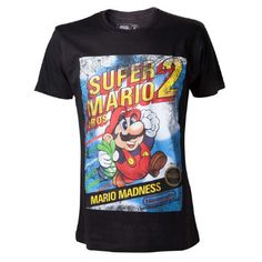 Silver Basic Unisex 3D Print Super Mario T-Shirt Girls Summer Graphic Short Sleeve Game Boy Tee Top