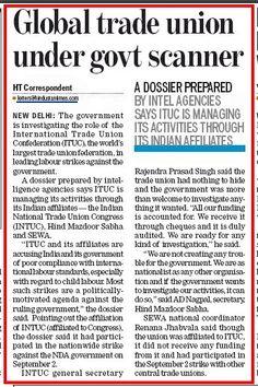 #ITUC #itucexposed #INTUC #scam