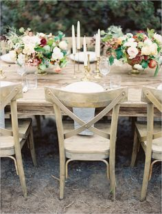 rustic wedding decor ideas photographed by @Erich Mcvey featured on @wedding chicks