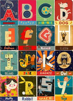 ʕ´・ᴗ・`ʔ READ                                         Alphabet by Paul Thurlby